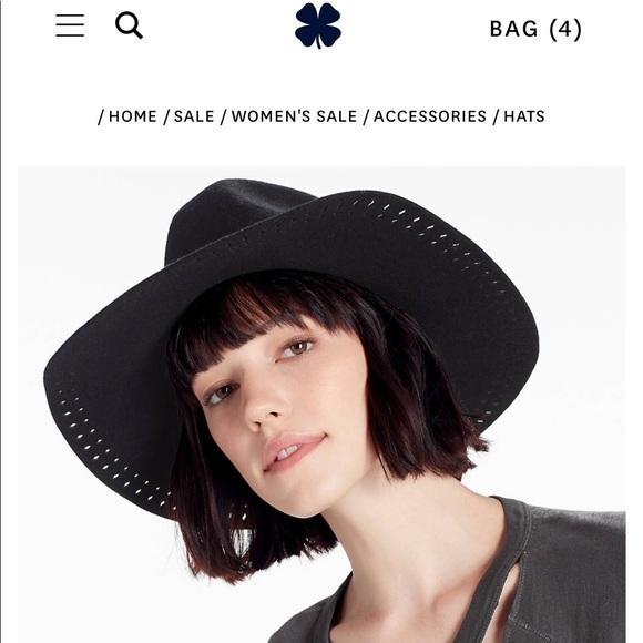2a0148baaa994b Lucky Brand Accessories   Lucky Brand Black Ranger Hat   Poshmark